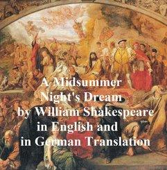 A Midsummer Night's Dream/ Ein Sommernachtstraum/ Ein St. Johannis Nachts-Traum (eBook, ePUB)