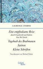 Empfindsame Reise, Tagebuch des Brahmanen, Satiren, kleine Schriften (eBook, ePUB)