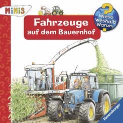 Ravensburger Minis: Fahrzeuge auf dem Bauernhof - Wieso? Weshalb? Warum?