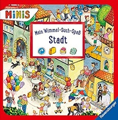 Ravensburger Minis - Mein Wimmel-Such-Spaß: Stadt