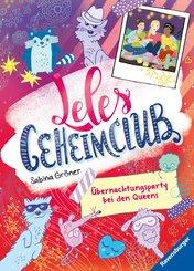 Leles Geheimclub, Band 2: Übernachtungsparty bei den Queens (eBook, ePUB)