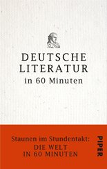 Deutsche Literatur in 60 Minuten (eBook, ePUB)
