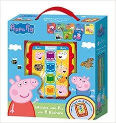 Peppa Pig - Lese-Pad mit 8 Büchern