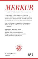 MERKUR Gegründet 1947 als Deutsche Zeitschrift für europäisches Denken - 2021-05 (eBook, ePUB)