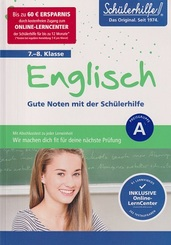 Englisch 7.-8. Klasse - Gute Noten mit der Schülerhilfe