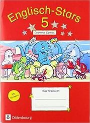 Englisch-Stars: 5. Schuljahr - Übungsheft Comics mit Lösungsheft