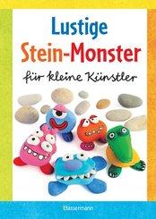 Lustige Stein-Monster für kleine Künstler. Basteln mit Steinen aus der Natur. Ab 5 Jahren (eBook, ePUB)