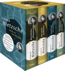 Friedrich Nietzsche - Werke in vier Bänden (eBook, ePUB)