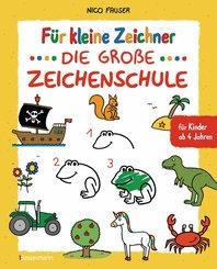 Für kleine Zeichner - Die große Zeichenschule. Zeichnen lernen für Kinder ab 4 Jahren. Mit Erfolgsgarantie! (eBook, ePUB)