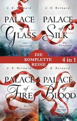 Die Palace-Saga Band 1-4: - Palace of Glass / Palace of Silk / Palace of Fire / Palace of Blood (4in1-Bundle) (eBook, ePUB)