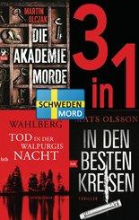 Schwedenmord: Tod in der Walpurgisnacht / Die Akademiemorde / In den besten Kreisen (3in1 Bundle) (eBook, ePUB)