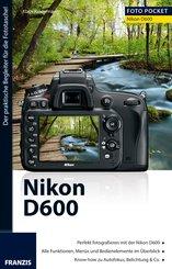 Foto Pocket Nikon D600 (eBook, PDF)