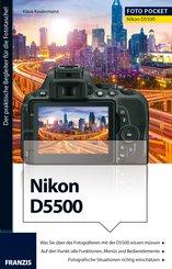 Foto Pocket Nikon D5500 (eBook, PDF)