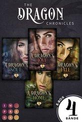 The Dragon Chronicles. Sammelband der gefühlvollen Urban Fantasy Serie für Drachenfans (The Dragon Chronicles ) (eBook, ePUB)