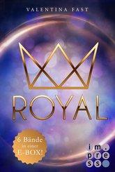 Royal: Alle sechs Bände in einer E-Box! (eBook, ePUB)