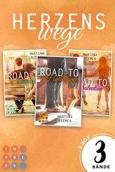 3 Liebesromane im Sammelband!  (Herzenswege) (eBook, ePUB)