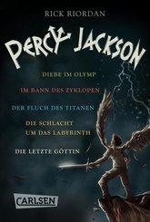 Percy Jackson: Alle fünf Bände der Bestseller-Serie in einer E-Box! (Percy Jackson ) (eBook, ePUB)