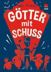 Die Chaos-Götter 4: Götter mit Schuss (eBook, ePUB)