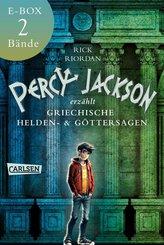 Percy Jackson erzählt: Beide Bände der Bestseller-Serie in einer E-Box! (eBook, ePUB)