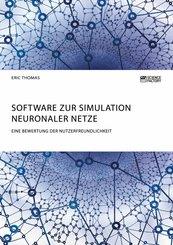 Software zur Simulation Neuronaler Netze. Eine Bewertung der Nutzerfreundlichkeit (eBook, PDF/ePUB)