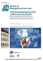 IT-Sourcing Management 2011 - Status quo und Zukunft (eBook, PDF)