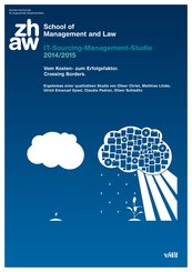 IT-Sourcing-Management-Studie 2014/2015. Vom Kosten- zum Erfolgsfaktor. Crossing Borders. (eBook, PDF)