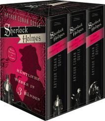Sherlock Holmes - Sämtliche Werke (3 Bände)