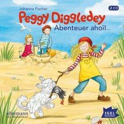 Peggy Diggledey - Abenteuer ahoi!, Audio-CD