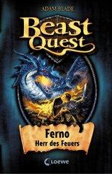 Beast Quest 1 - Ferno, Herr des Feuers (eBook, ePUB)