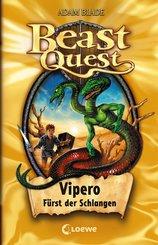 Beast Quest 10 - Vipero, Fürst der Schlangen (eBook, ePUB)