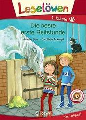 Leselöwen 1. Klasse - Die beste erste Reitstunde (eBook, PDF)