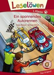 Leselöwen 1. Klasse - Ein spannendes Autorennen (eBook, PDF)