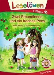 Leselöwen 1. Klasse - Zwei Freundinnen und ein freches Pony (eBook, PDF)