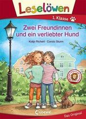 Leselöwen 1. Klasse - Zwei Freundinnen und ein verliebter Hund (eBook, PDF)
