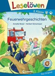 Leselöwen 2. Klasse - Feuerwehrgeschichten (eBook, PDF)