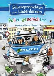 Silbengeschichten zum Lesenlernen - Polizeigeschichten (eBook, ePUB)