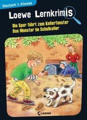 Loewe Lernkrimis - Die Spur führt zum Kellerfenster / Das Monster im Schulkeller (eBook, PDF)