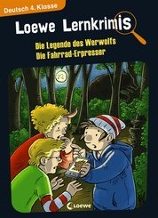 Loewe Lernkrimis - Die Legende des Werwolfs / Die Fahrrad-Erpresser (eBook, PDF)