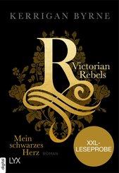 XXL-Leseprobe: Victorian Rebels - Mein schwarzes Herz (eBook, ePUB)