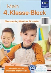Mein 4. Klasse-Block - Deutsch, Mathe & mehr - Lernblock