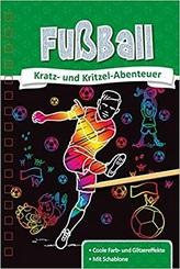 Kratz- und Kritzel-Abenteuer: Fußball