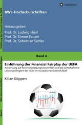 Einführung des Financial Fairplay der UEFA (eBook, ePUB)