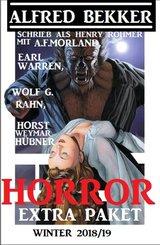 Horror Extra Paket Winter 2018 (eBook, ePUB)