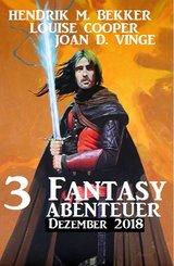 3 Fantasy Abenteuer Dezember 2018 (eBook, ePUB)