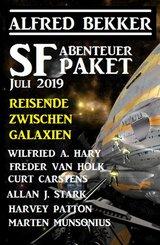 SF Abenteuer Paket Juli 2019 Reisende zwischen Galaxien (eBook, ePUB)