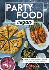 Partyfood vegan (eBook, ePUB)