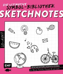 Let's sketch! Super easy! 1500 Sketchnotes (eBook, ePUB)