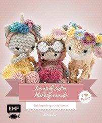 Tierisch süße Häkelfreunde - I love Pastell (eBook, ePUB)