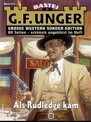 G. F. Unger Sonder-Edition 213 - Western (eBook, ePUB)