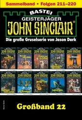 John Sinclair Großband 22 - Horror-Serie (eBook, ePUB)